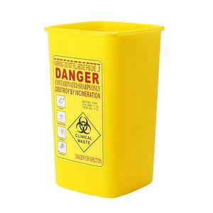Image 3 - 1PC קעקוע רפואי קיבולת פלסטיק חד מיכל Biohazard מחט Disposale פסולת תיבת אחסון קעקוע ציוד אבזרים