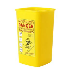 Image 3 - 1PC Tattoo Medizinische Kapazität Kunststoff Sharps Container Biohazard Nadel Disposale Abfall Box Lagerung Tattoo Ausrüstung Zubehör