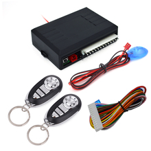 New Universal Car Auto Remote Central Kit Door Lock Locking Vehicle Keyless Entry System With Remote Controllers Car-styling
