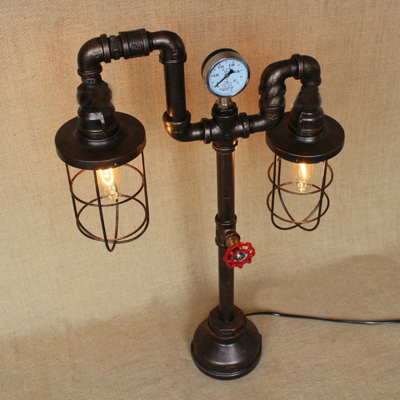 Water Pipe Table Lamps 12