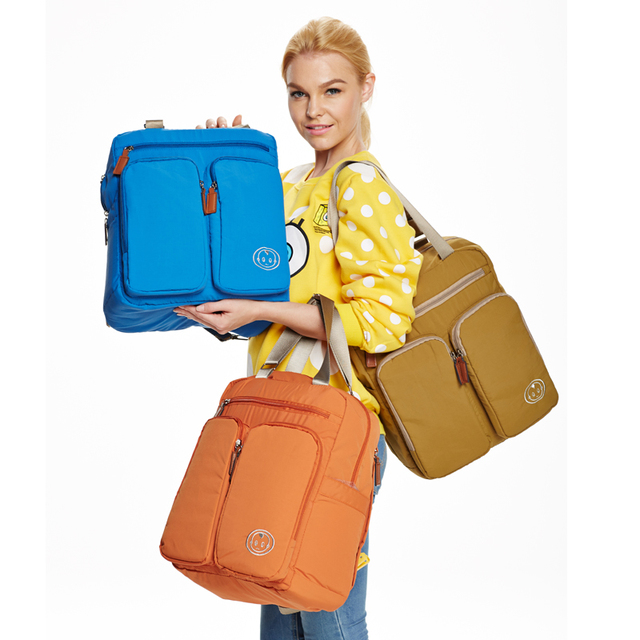 Three Colors Multifunction Back Pack Nappy Bag 30% off Pack Baby Goods Bags YL68