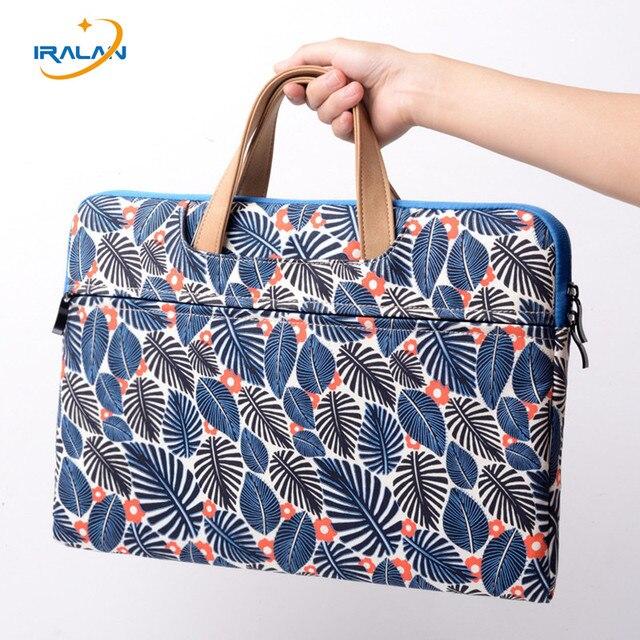 14 15.6 inch Laptop Bag Men Women Laptop Bag canvas portable Sleeve Case For Macbook Air 13.3 Bags Case for Macbook Pro 13 15