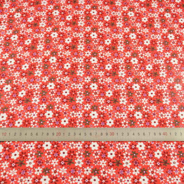 2016 ニュース綿 100% 無地素敵な花のデザイン生地装飾ティッシュ衣服スクラップブッキング人形ホームテキスタイルパッチワーク