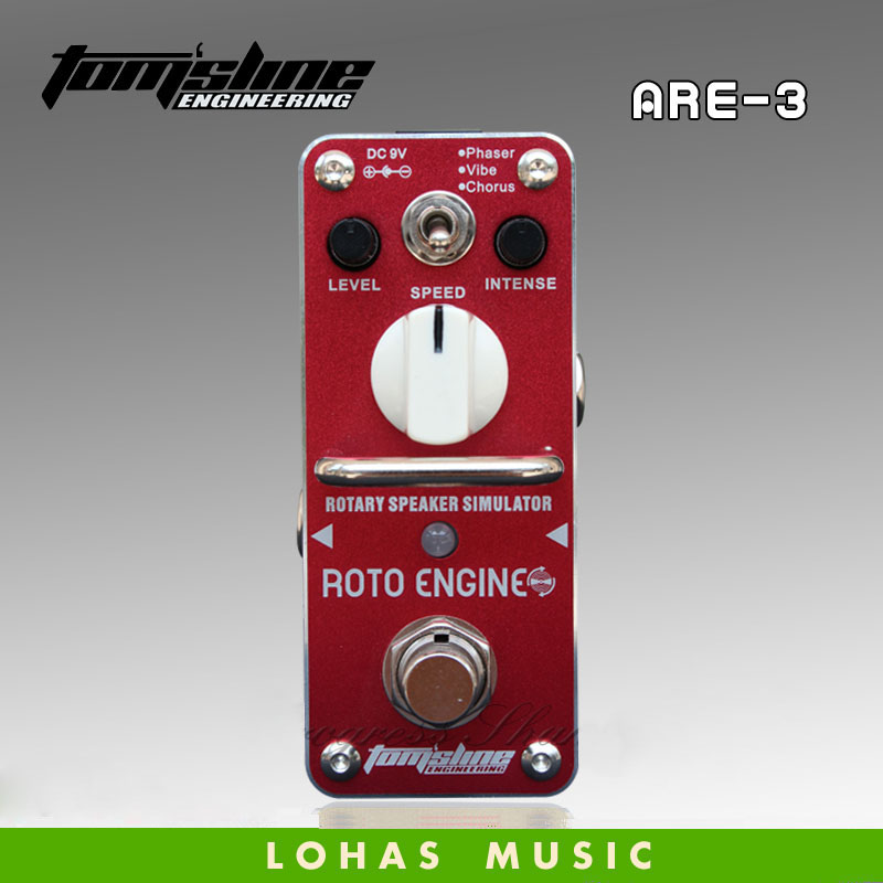 AROMA ARE 3 ROTO ENGINE Rotary speaker simulator multi modulation Guitarra Effect Pedal phaser vibe and
