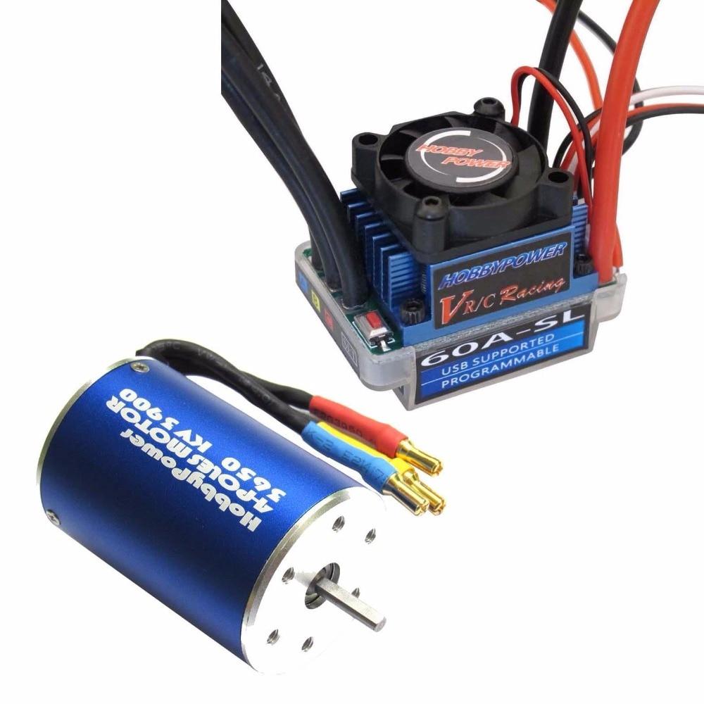 Buy Hobbypower 60a Esc Brushless Speed