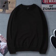 LUCKYFRIDAYF solid color hoodies Fashion Cotton Men/women Long Sleeve Hip Hop Hoodies Street WearHarajuku Sweatshirt XXXXL bts