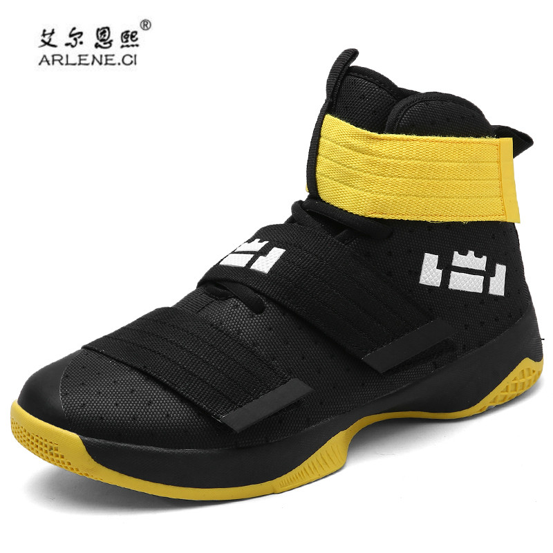 45bef8fd7415 2018 Men Basketball Shoes Court Male fitness Basketball Ankle Boots for  Female Couple Stability Court Sports Sneakers Size 36 45-in Basketball Shoes  from ...