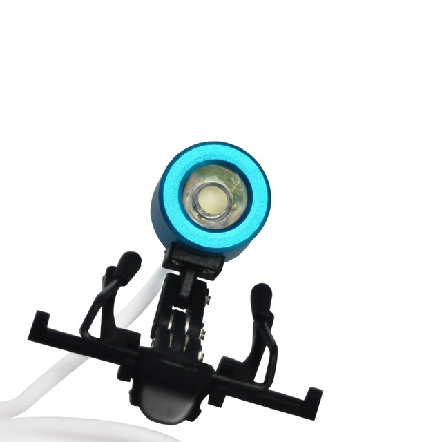 Portable Blue Head Light Lamp for Dental Surgical Medical Binocular Loupe