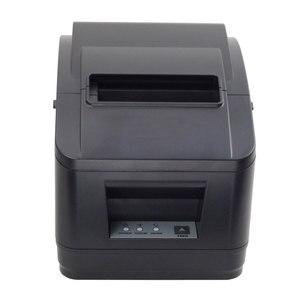 Image 5 - Impresora WIFI POS de alta calidad, 80mm, impresora de recibos automática, wifi + interfaz usb para supermercado, tienda de té de la leche