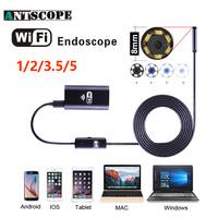 Antscope Wifi Endoscope Camera Android 720P Iphone Endoscope Camera Waterproof Camera Endoscopio Android IOS Boroscope Camera