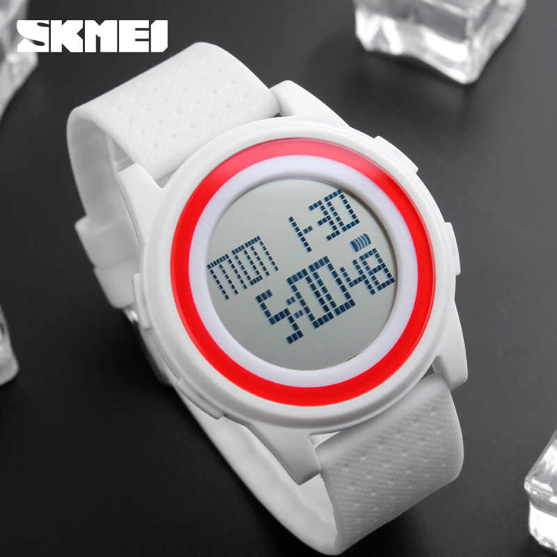a557fe93f7f ... SKMEI 1206 Men Women LED Digital Wristwatches Relogio Masculino  Feminino Waterproof Sport Thin Fashion Simple Dial ...