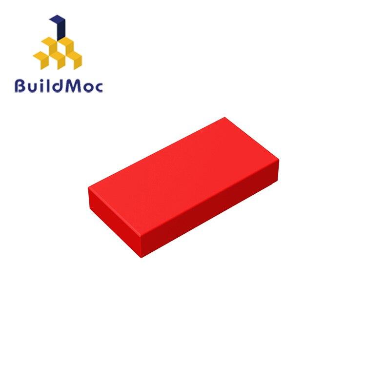 BuildMOC 3069 30070 Tile 1x2 Technic Changeover Catch For Building Blocks Parts DIY  Educational Tech Parts Toys