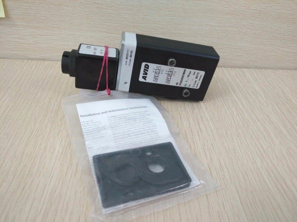 Solenoid Valve AVID P/N 791N024DWD1MN00  NORGREN 2636047.0242.024.00 3/2 Direction Control Valve