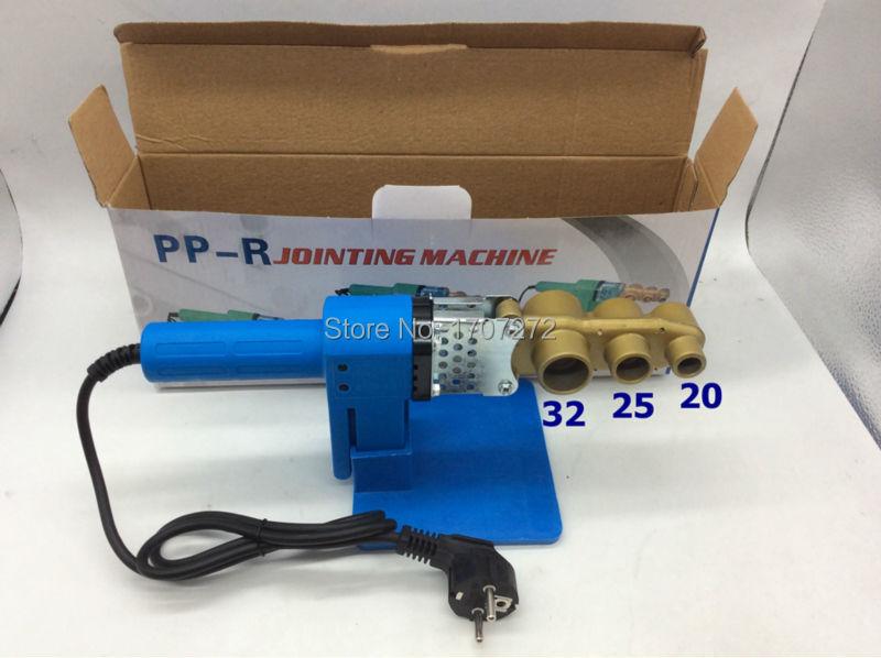 Állandó hőmérsékletű elektronikus PPR csővezetékes hegesztőgép AC 220V 600W 20-32 mm