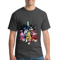 Power Glove Rangers Hip Hop Top Tees Popular Men Short Sleeve T Shirts Orangic Cotton Men