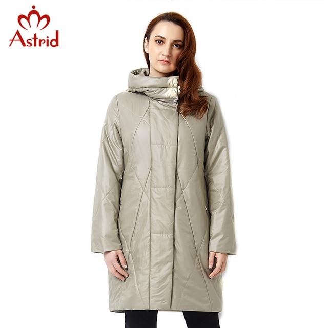 Astrid 2017Новинки пальто для женщин Весной Куртка Повседневная Мода Женщины Куртка Высокого Качества Женщины С Капюшоном Пальто Марка Куртка Плюс Размер 5XL AM-2305