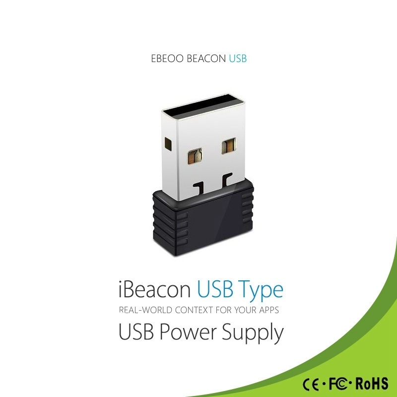 New Arrivals IBeacon USB Waterproof Low Energy Kit BLE 4.0 Base Station Receiver Proximity Device makerele Automation China 2pcs lot ble tag beacon base station 30