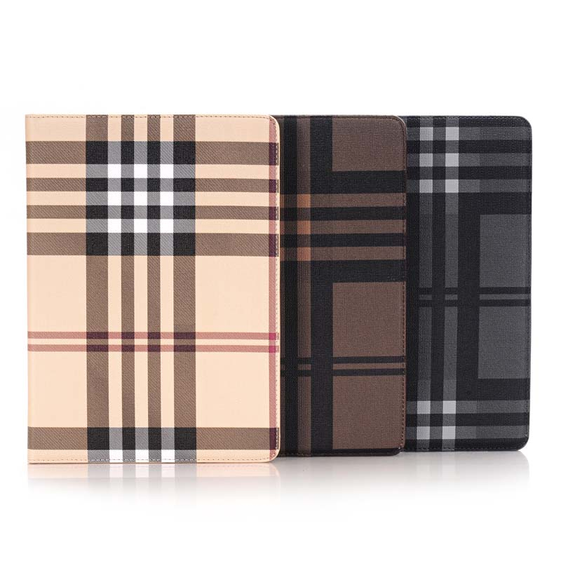 Fashion Stripe Book Cover Card Slot Folio Stand PU Leather Magnet Smart Sleep Case For Apple iPad Pro Air3 Air 3 9.7 inch Tablet