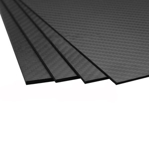 Image 3 - 3K Carbon Fiber Plate 200x250mm 100%Pure Carbon Board 1mm 2mm 3mm 4mm 5mm Thickness  Carbon Fiber Material For RC UAV/Toys