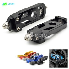 Motorcycle Parts CNC Chain Adjusters Tensioners Catena for yamaha mt 09 mt09 MT 09 MT09 tracer