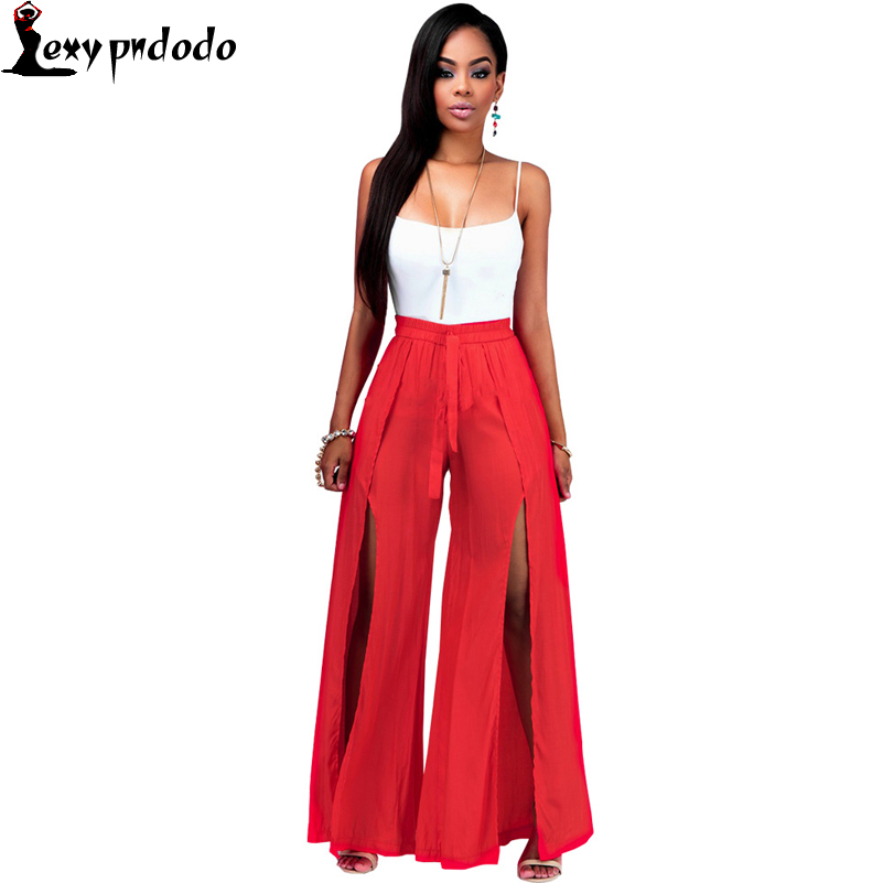 Women 2 Piece Pants Set Sexy Vest Fashion Casual Sleeveless Romper Ladies Two Piece Outfits Bandage Long Pants Combinaison Femme