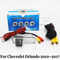 Стоянка для автомобилей Камера Для Chevrolet Orlando 2010 ~ 2017/RCA Кабель aux или Беспроводные Камеры/HD CCD Ночного Видения Камеры Заднего вида