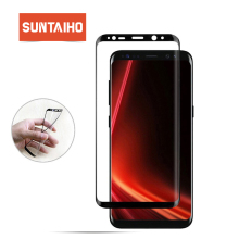 Suntaiho 3D Curved full Cover Screen Protector For Samsung Galaxy Note8 S8 Plus HD PET Soft Full Body Film (Not Tempered Glass)