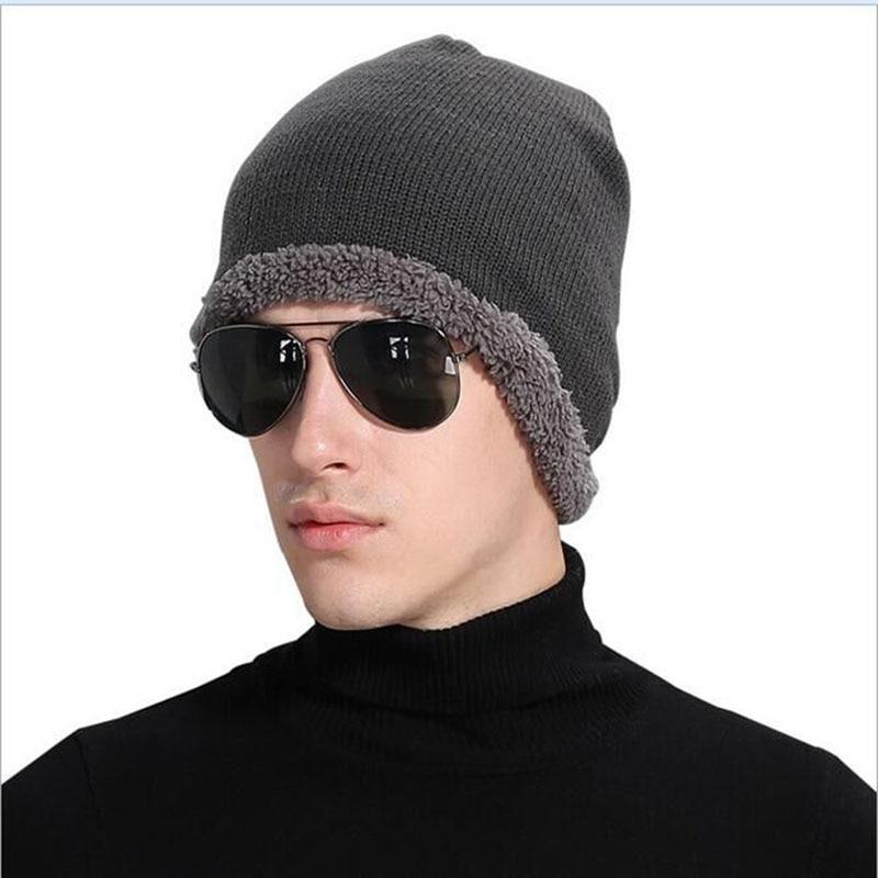 Men Beanie Hat Hats Winter Warm Knitting Wool Hat Unisex Beanie Caps Lady Hats Caps Women Las Hot rwby letter hot sale wool beanie female winter hat men