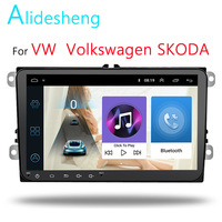 "9""Car Multimedia player 2 Din radio For VW/Volkswagen/Golf/Polo/Tiguan/Passat/b7/b6/SEAT/leon/Skoda/Octavia Radio GPS DAB"
