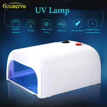 Professional Gel Nail Dryer High quality 36W UV Lamp 220V EU Plug Nail Lamp Curing Light Nail Art salon Dryer tools gouserva