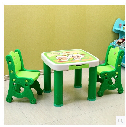 Children Furniture Sets kids Furniture set plastic kids table and chair set study table chairs set chaise enfant mesa comedor -in Children Furniture Sets ... & Children Furniture Sets kids Furniture set plastic kids table and ...