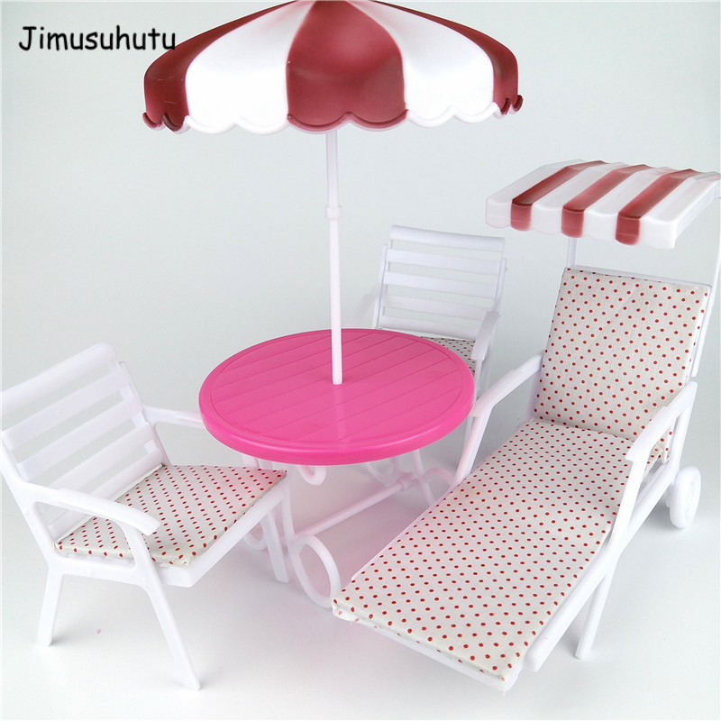 Magnificent Us 17 11 43 Off Limited Collection Mini Dollhouse Furnitures My Fancy Life Garden Lounge Chair Play Set Beach Chair For Barbie On Aliexpress Cjindustries Chair Design For Home Cjindustriesco