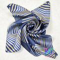 Winter New Natural Silk Square Silk Scarf Printed 100% Silk Crepe Satin Silk Scarves Autumn And Winter Satin Small Scarf