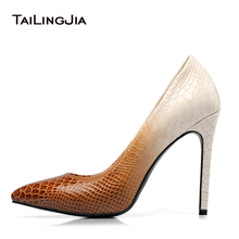 цены Women Basic High Heel Pumps Pointed Toe Office Lady Heeled Shoes Patent Leather Stiletto Heels High Heel Court Shoes Big Size