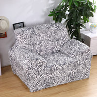 Simple and Elegant Seater Recliner Cover Retro Sofa Cover Soft Spandex Polyester Couch slipcover