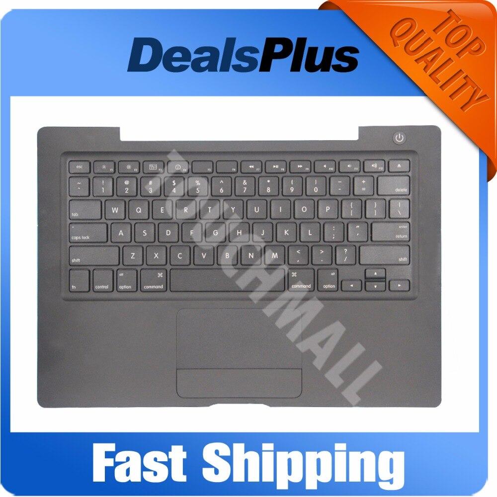 Testé A1181 A1185 Palmrest Top Case clavier + TOUCHPAD Trackpad pour Macbook 13