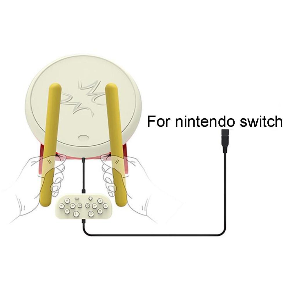 Pubg Controller 8bitdo Gamepad Pubg Mobile Joystick Taiko No Tatsujin Drum Sticks for Nintendo Wii Console
