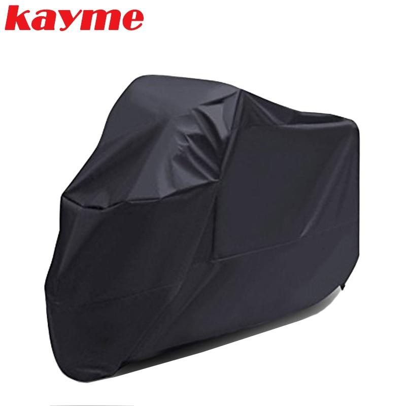 Kayme Motorcycle Cover Waterproof Outdoor Indoor XXL Motorbike Cruisers Street Sport Bikes Cover UV Protective Rain Cover
