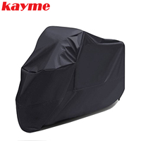 Kayme Motorcycle Cover Outdoor Indoor Motorcycle Cruisers Street Sport Bikes Cover UV Protective Motorcycle Rain Cover