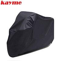 Kayme capa da motocicleta à prova dxxl água ao ar livre indoor xxl moto cruzadores de rua bicicletas esportivas capa uv capa protetora capa chuva