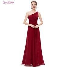 [Clearance Sale] Burgundy Prom Dresses Ever Pretty Long Maxi Elegant  Slimming Stylish Shining HE09905 Prom Dresses 2017