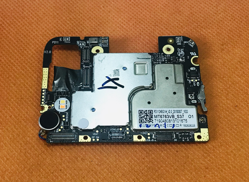 Used Original Mainboard 4G RAM+32G ROM Motherboard For Umidigi ONE Helio P23 Octa Core Free Shipping
