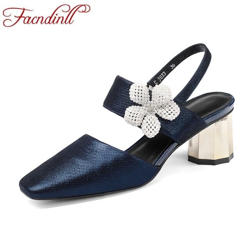 FACNDINLL hot high qulaity women sandals new 2018 summer strange style heel shoes flower open toe shoes ladies sweet party shoes royyna new sweet style women sandals cover heel summer gingham women shoes casual gladiator ladies shoes soft fast free shipping