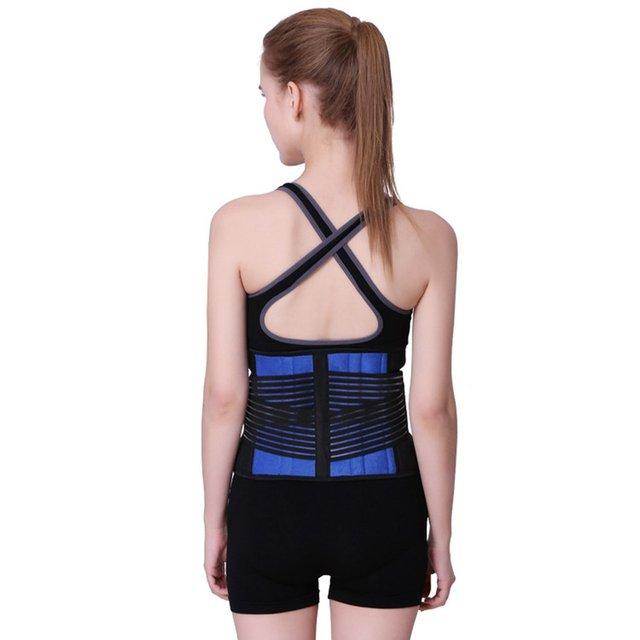 Keep Warm Men Women Waist Support Belt Sport Slimming Absorb Sweat Gym Bodybuilding Weightlifting Waist Traning Belt