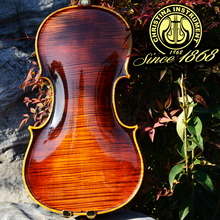 Maestro christina solo s800 profesional material de madera de arce violín 4/4 importado de europa, violino 3/4 + estuche de violín, colofonia, arco