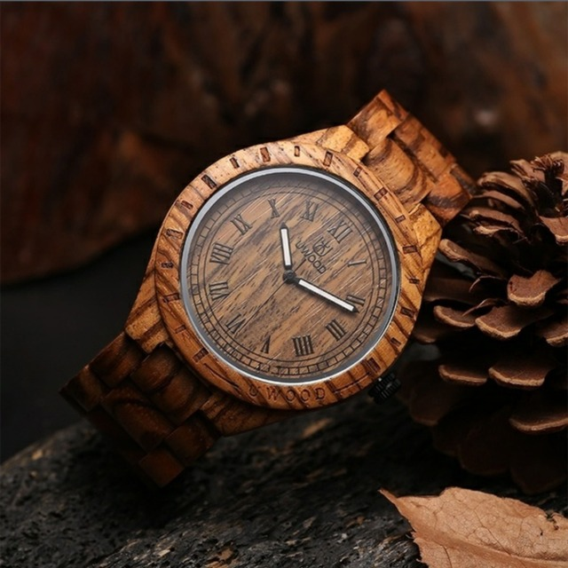 2016 Newest Hot sell !!! Luxury Brand Wooden Men Quartz Watch Japan Movt Handmade Limited Unique High Quality Wood Watches Men