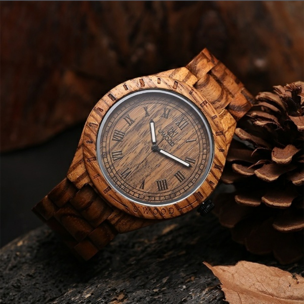 2018 Newest Hot sell !!! Luxury Brand Wooden Men Quartz Watch Japan Movt Handmade Limited Unique High Quality Wood Watches Men