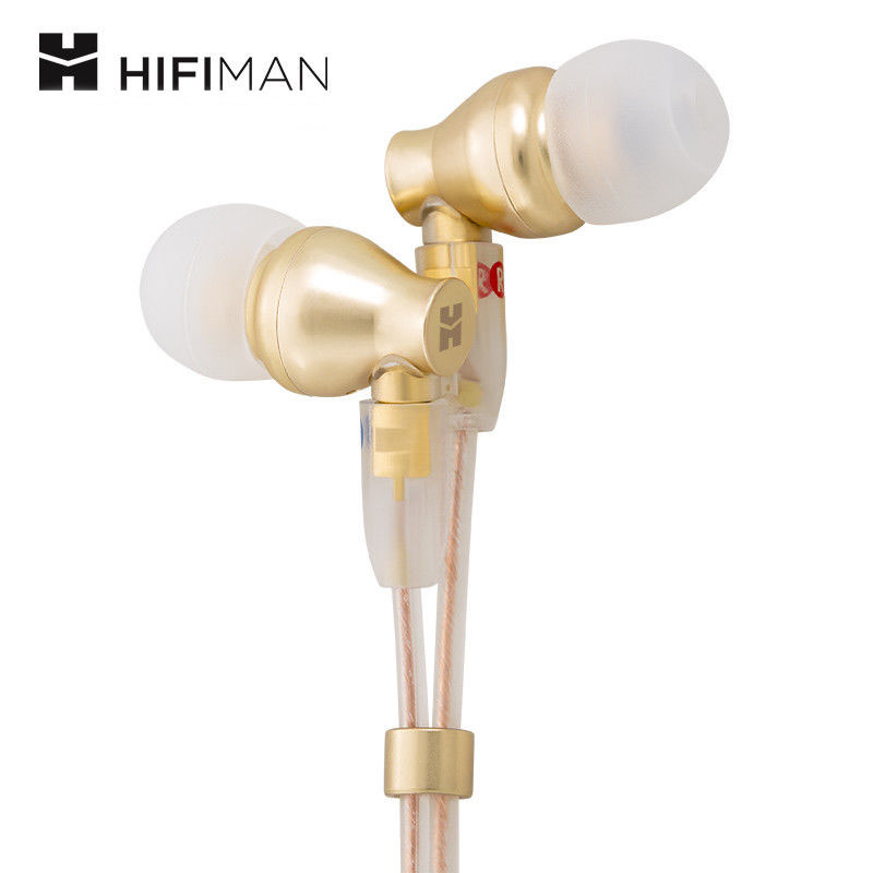 HifiMan Electronics RE800 In-Ear Earphone with 9mm Dynamic Driver (Gold) (Have gift L16 CABLE+Coupon) laete l16 143 1