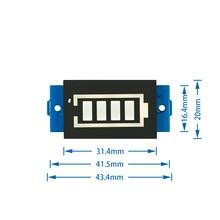 1S 2S 3S 4S 6S 7S 4 серия индикатор емкости литиевых батарей 16,8 V синий дисплей тестер мощности электромобиля