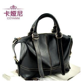 100% Genuine Leather Handbag Fashion Tote Handbag For Women Inclined Shoulder Bag